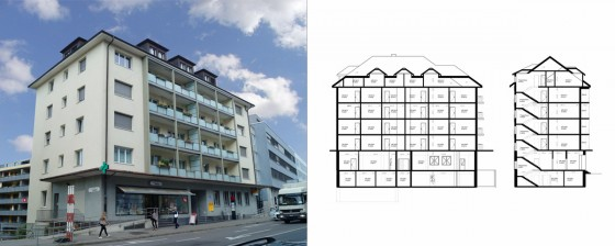 Wohn u. Geschäftshaus Bern