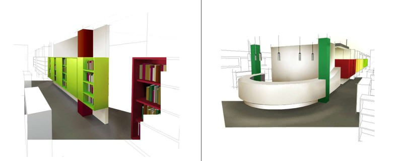 Planfrei - Empfangszonen Design